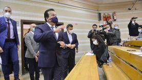 عبدالغفار والخشت يتفقدان أعمال الامتحانات بجامعة القاهرة