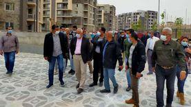 مسؤولو الإسكان يتفقدون مشروعات المنيا الجديدة: التزموا بالمواعيد المحددة