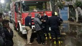 حريق يلتهم محل لبيع كماليات السيارات بشبرا.. والسبب: ماس كهربائي