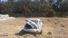 إصابة 3 أشخاص في انقلاب سيارة ملاكي بالإسماعيلية