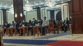 وزراء ونواب البرلمان يشاركون في عزاء الفريق كمال عامر