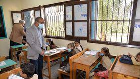محافظ الإسماعيلية يطلب تركيب «سلك» على مدرسة لمنع انتشار الذباب