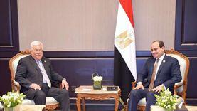 """سفير فلسطين: """"عباس"""" يصل القاهرة غدا للقاء السيسي لبحث التعاون الدائم"""