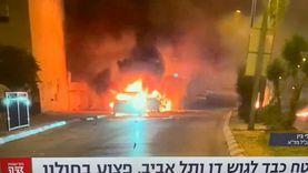 عاجل.. لحظة إطلاق صواريخ من لبنان على إسرائيل «فيديو»