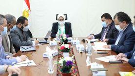وزيرة الصحة تناقش تطوير وميكنة منظومة التموين الطبي
