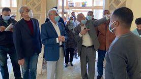 محافظ جنوب سيناء يتابع المشروعات المقرر افتتاحها في العيد القومي