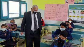 وكيل تعليم الإسكندرية يتفقد لجان امتحانات الصف السادس الإبتدائي