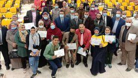 تعليم جنوب سيناء يكرم الفائزين في مسابقات الأنشطة بالجمهورية