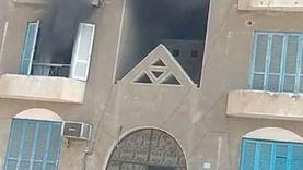 نشوب حريق بوحدة سكنية بالسويس
