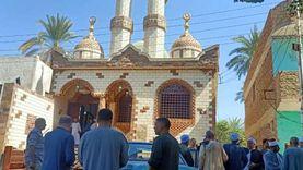 بالصور.. افتتاح 5 مساجد في قنا