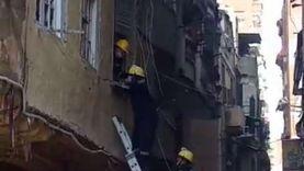 عاجل.. مصرع اثنين بينهما طفلة وإصابة 4 في انهيار عقار بالإسكندرية