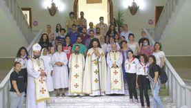 كنيسة العذراء سيدة المعادي تستقبل النائب البطريركي في زيارة رعوية