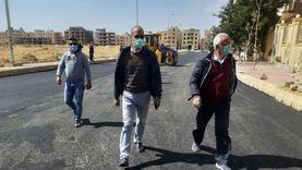 مسؤولو «الإسكان» يتابعون سير العمل بمحور الشهيد خالد مغربي