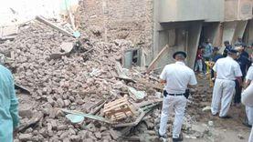 إصابة 3 من أسرة واحدة في انهيار جزئي بمنزل قديم في أسيوط