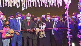 نيفين جامع تشارك في افتتاح فعاليات الدورة الـ38لمعرض الخرطوم الدولي