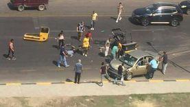 أول أيام العيد.. مصرع 5 وإصابة 21 في حوادث طرق بـ3 محافظات