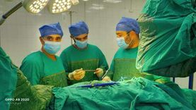 """""""ميت غمر المركزي"""" ينهي معاناة شاب من ضيق التنفس بعملية جراحية دقيقة"""