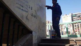 حملات مكثفة لحي غرب أسيوط والغنايم ضمن خطة المحافظة للنظافة