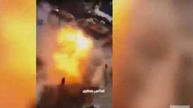 فيديو.. لحظة حدوث الانفجار بساحة الطيران في بغداد