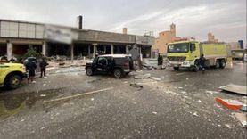 صور.. وفاة وإصابة 7 أشخاص في انفجار مطعم بالرياض