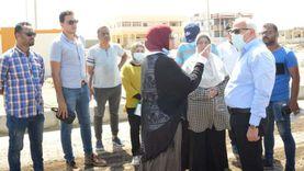 «الغضبان» يتابع تطوير محطة رفع «السلام 1» جنوب بورسعيد