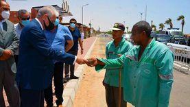 محافظ جنوب سيناء يوجه بتوفير زي موحد لعمال النظافة في الطور