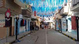 """100أسرة تشارك في تجميل شارع """"عين جالوت """" بالإسكندرية:""""عادة سنوية"""""""