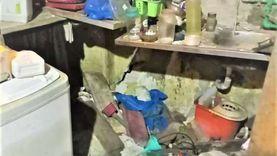 المطبخ سقط عند الجيران.. انهيار أجزاء من عقار بالإسكندرية دون إصابات