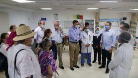 30 سفيرا أجنبيا في مصر يتفقدون الإجراءات الاحترازية بمستشفى شرم الشيخ