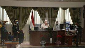 محافظ جنوب سيناء يتابع تنفيذ المشروعات بالمحافظة خلال اجتماع المتابعة