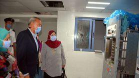 محافظ القليوبية يتفقد مستشفى كفر شكر ومحطة مياه المنشأة الكبرى