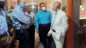 وكيل صحة الشرقية يتفقد المركز الطبي بأبو حماد لمتابعة الخدمات العلاجية