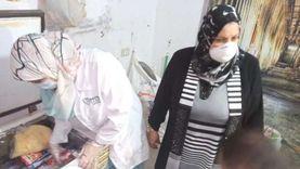 غلق مطعمين وضبط 250 كيلو لحوم مفرومة في حملة بالمنصورة