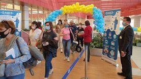 """مطار شرم الشيخ يستقبل أولى رحلات شركة """"إير أستانا"""" الكازخستانية"""
