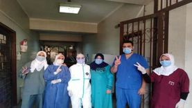 """مستشفى الخانكة المركزي يسجل """"صفر إصابات"""" بكورونا"""