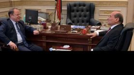 النائب العام يهنئ رئيس محكمة النقض بتولي مهام منصبه