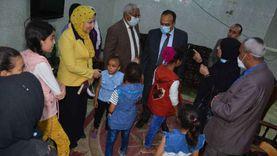 نائب محافظ المنيا يزور مؤسسة البنات ويطالب بتوفير أوجه الرعاية