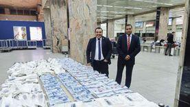 إحباط تهريب كمية من الأدوية والمستلزمات الطبية بمطار القاهرة