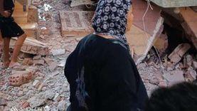 القاهرة: جار إزالة أنقاض العقار المنهار والتأكد من عدم وجود ضحايا