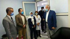 «فودة» يتابع استعدادات تطعيم المواطنين بلقاح كورونا