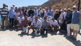 وزيرا السياحة والبيئة و30 سفيراً في رحلة بحرية بشرم الشيخ