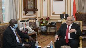 الخشت يلتقي وزير التعليم العالي بجنوب السودان لبحث التعاون المشترك