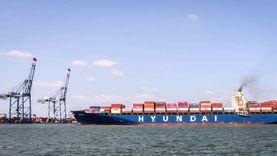 12 ألف حاوية مكافئة.. الخط الملاحي الكورى HMM يختار ميناء دمياط