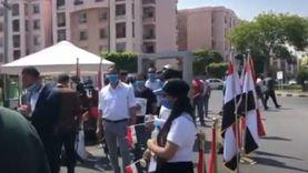 الناخبون ملتزمون بالكمامات والمطهرات في اللجان: تحيا مصر