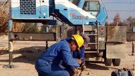 تشغيل 15 بئرا معطلة في الشيخ زويد ووسط سيناء