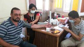 مبادرة 100 مليون صحة تجوب مراكز منفلوط وأبوتيج بأسيوط