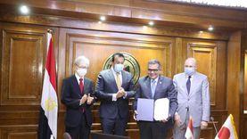 عبدالغفار يشهد توقيع اتفاقية بين جامعتي الجلالة وهيروشيما اليابانية