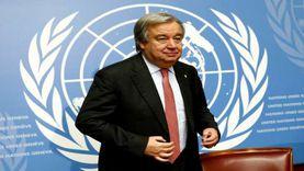 أمين الأمم المتحدة يدعو لوقف إطلاق النار في أماكن النزاعات بسب كورونا