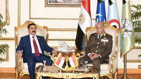 وزير الدفاع يلتقي نظيره العراقي خلال زيارته الرسمية لمصر