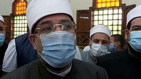وزير الأوقاف: يهمنا سلامة المواطنين وفتح المساجد مرهون بالصحة العامة